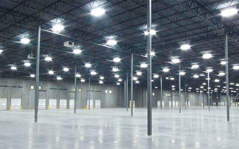 تامین روشنایی سوله ها و محیط های کارگاهی