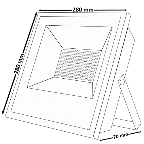 شماتیک پروژکتور اس ام دی ۵۰ وات