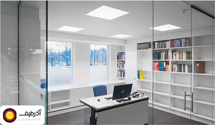 میزان روشنایی مناسب دفتر کار