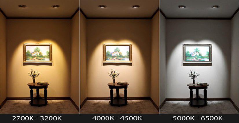 تفاوت نور آفتابی و مهتابی