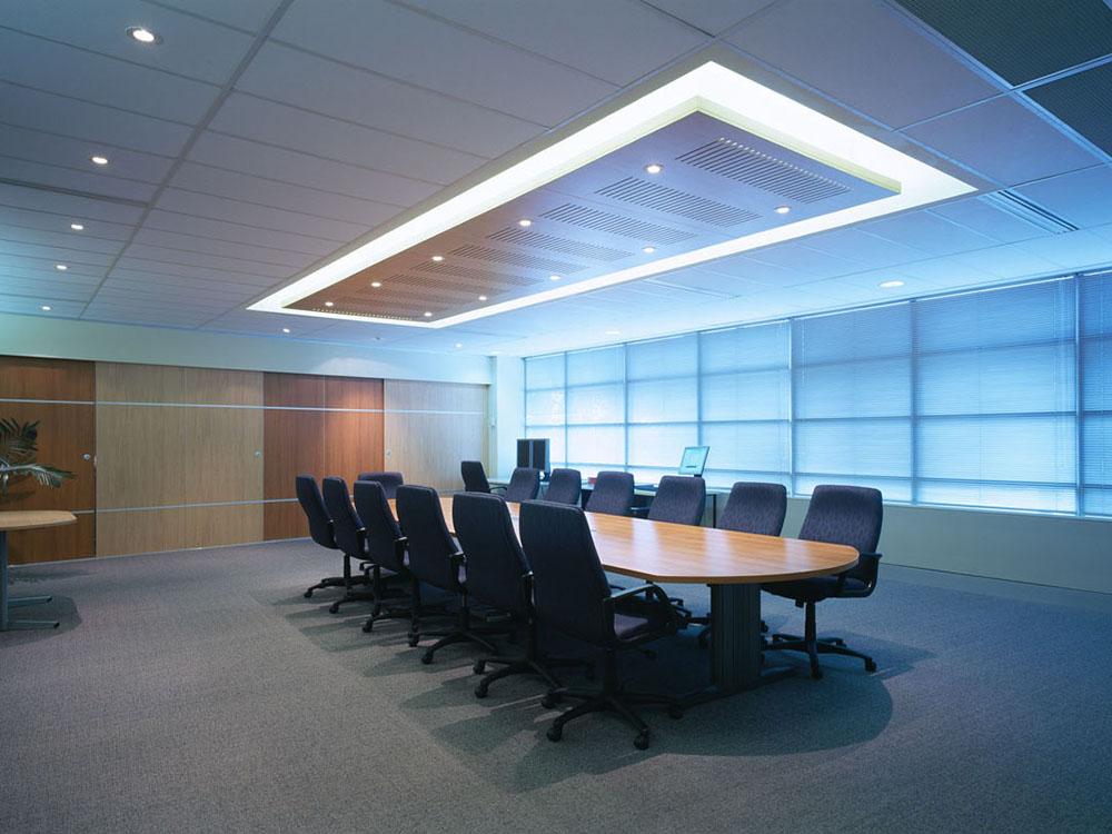 اصول نورپردازی اتاق کنفرانس