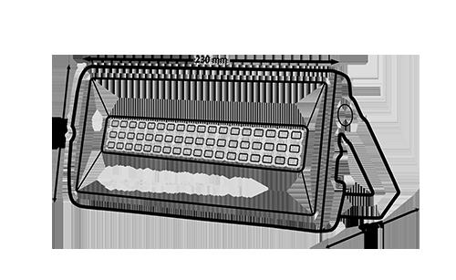 شماتیک پروژکتور اس ام دی بیلبوردی