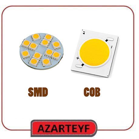 تفاوت های بین چراغ های روشنایی ال ای دی SMD و COB چیست؟