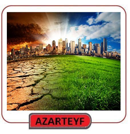 محصولات ال ای دی و تغییرات آب و هوایی