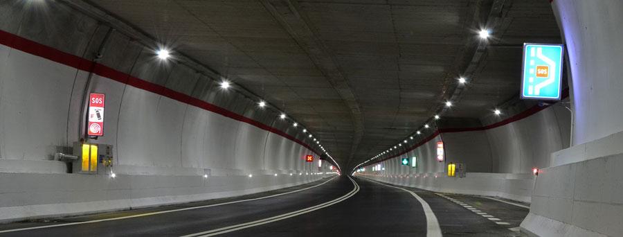 مزایای چراغ های تونل LED
