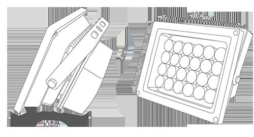 شماتیک پروژکتور 24 ولت